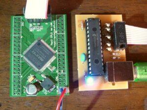usb plaster whit pic18f2550 پروگرامر USB Blaster